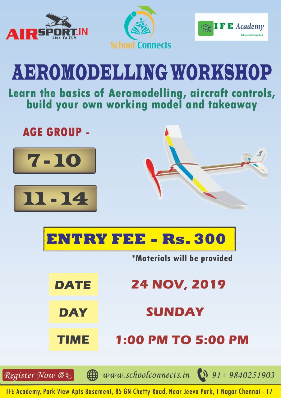 Aircraft Workshop - Kids Learn To Make Models That Fly