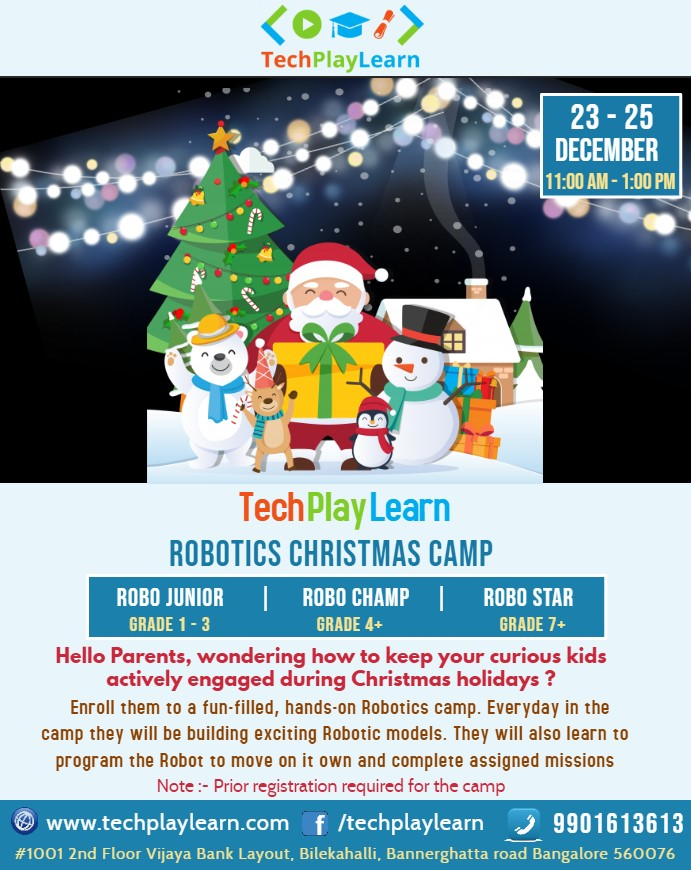 events in bangalore for christmas