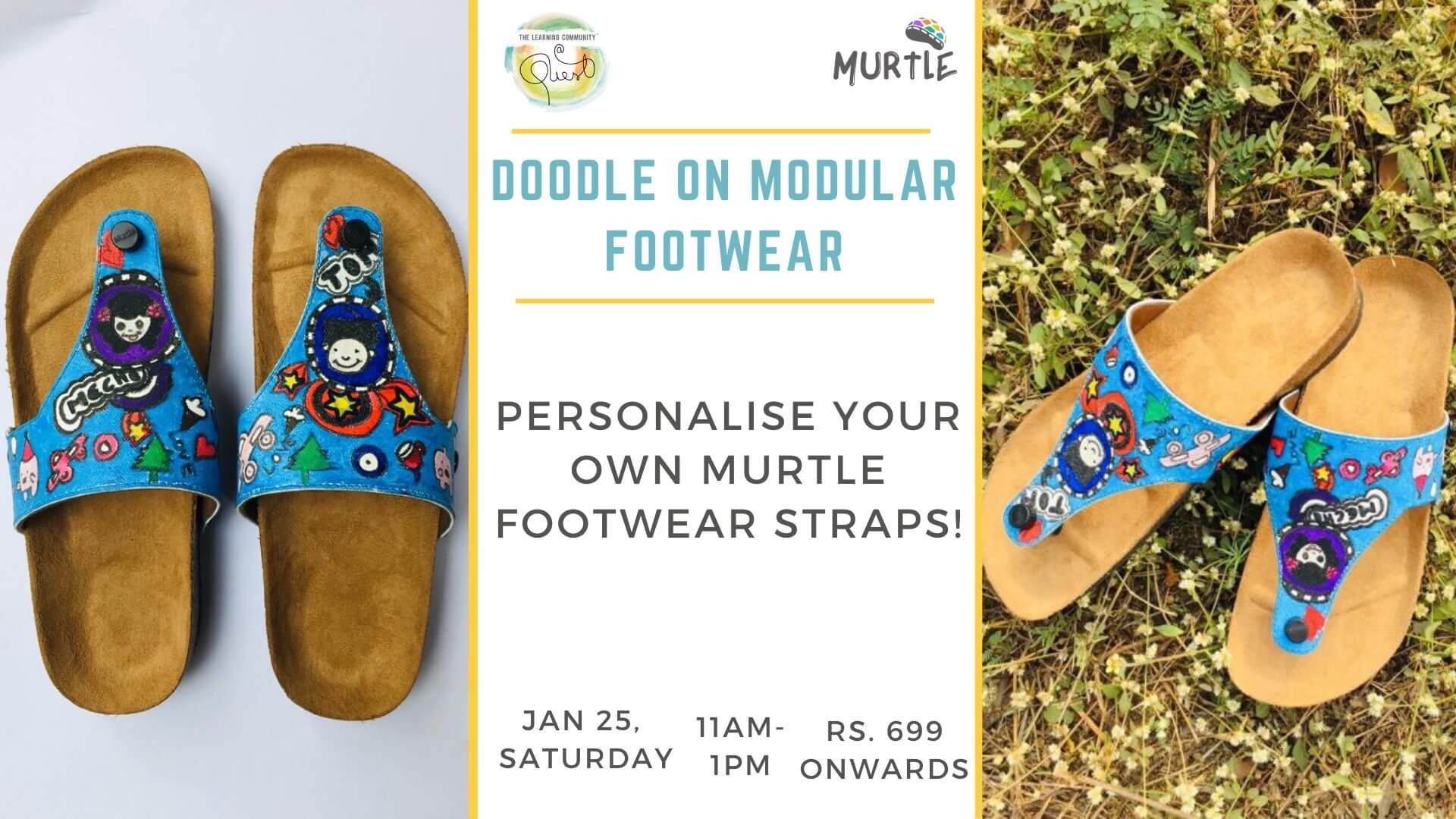Make your own footwear for Kids