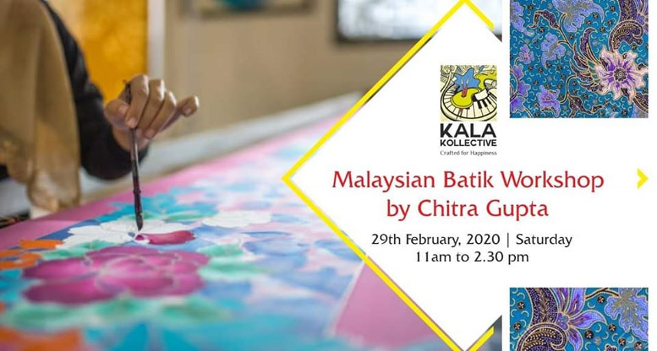 Malaysian Batik Workshop by Chitra Gupta