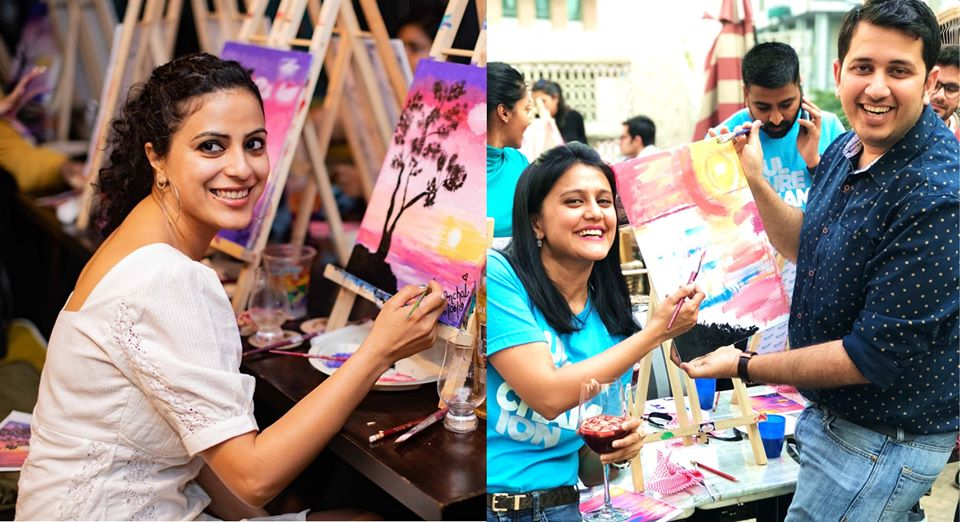 Foxtrot x The Craftsutra Present: Painting Party