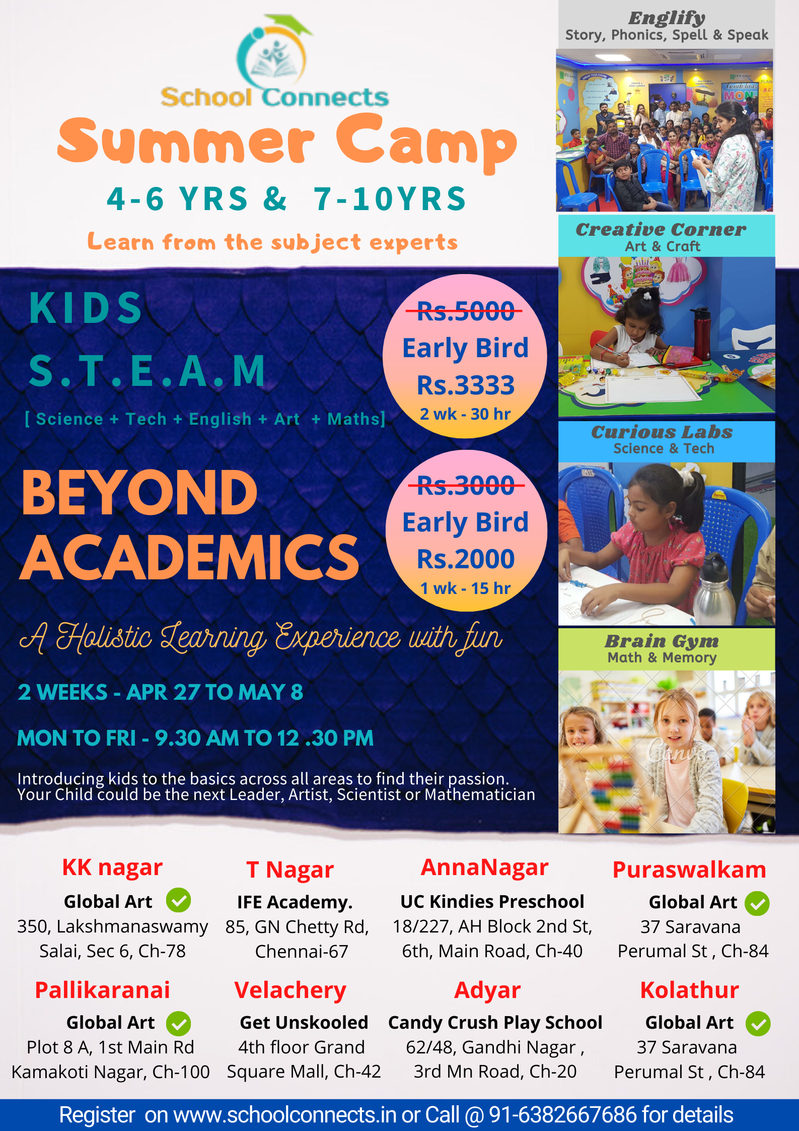 Beyond Academics - Summer Camp by SchoolConnects