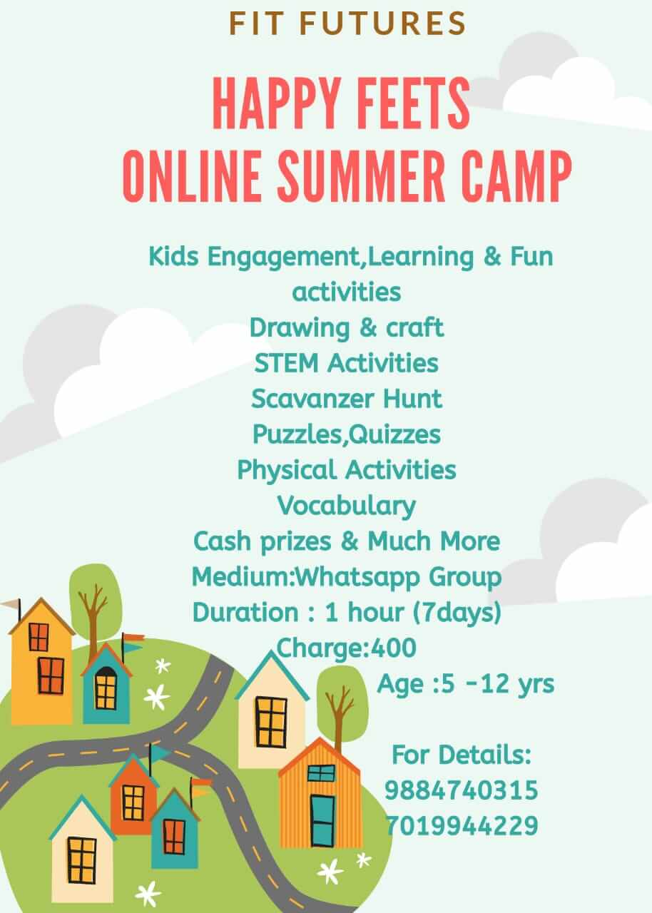 Happy Feets Online Summer Camp