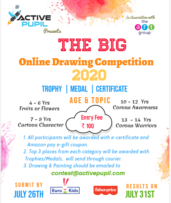ONLINE DRAWING COMPETITION 2020