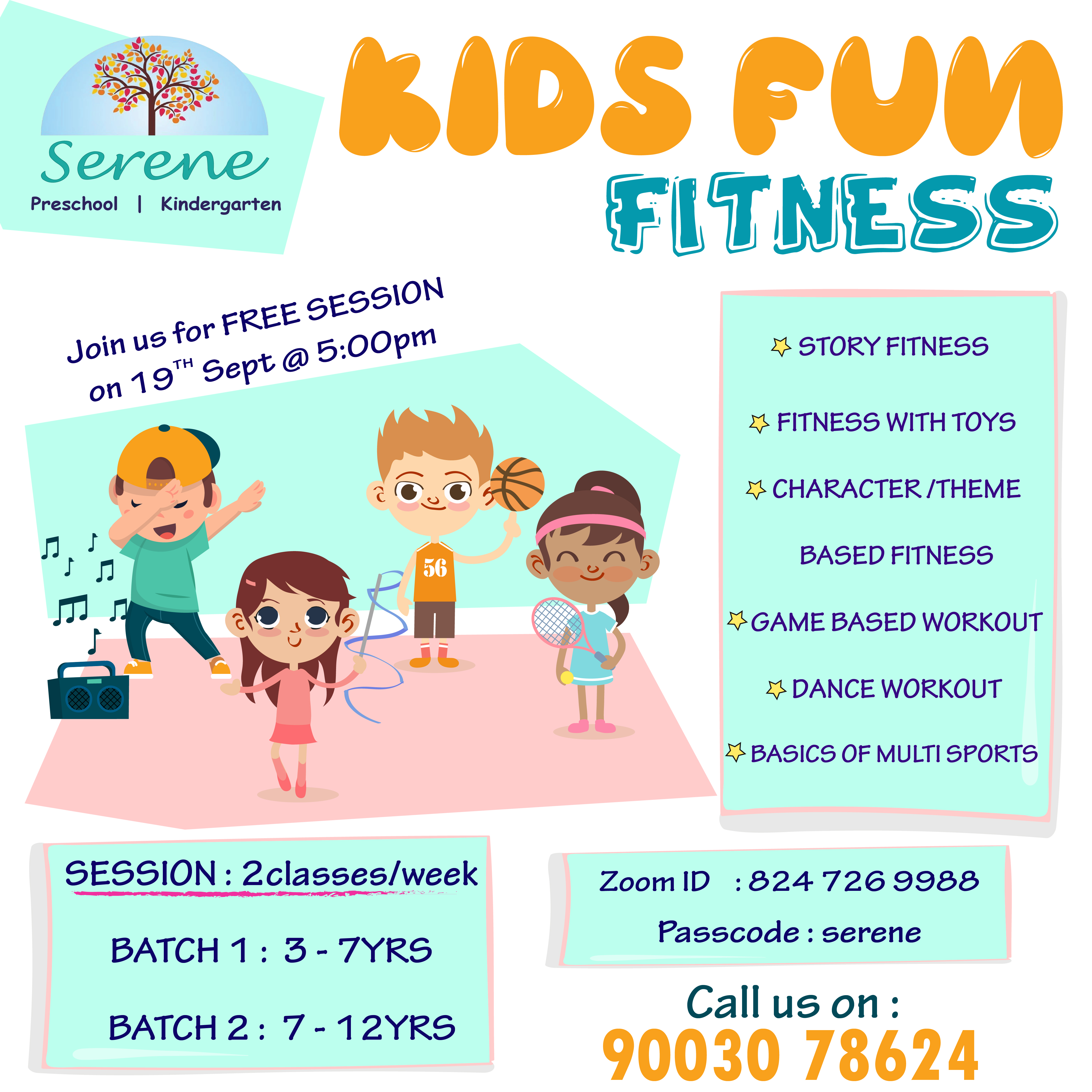 Kids Fitness FREE Session