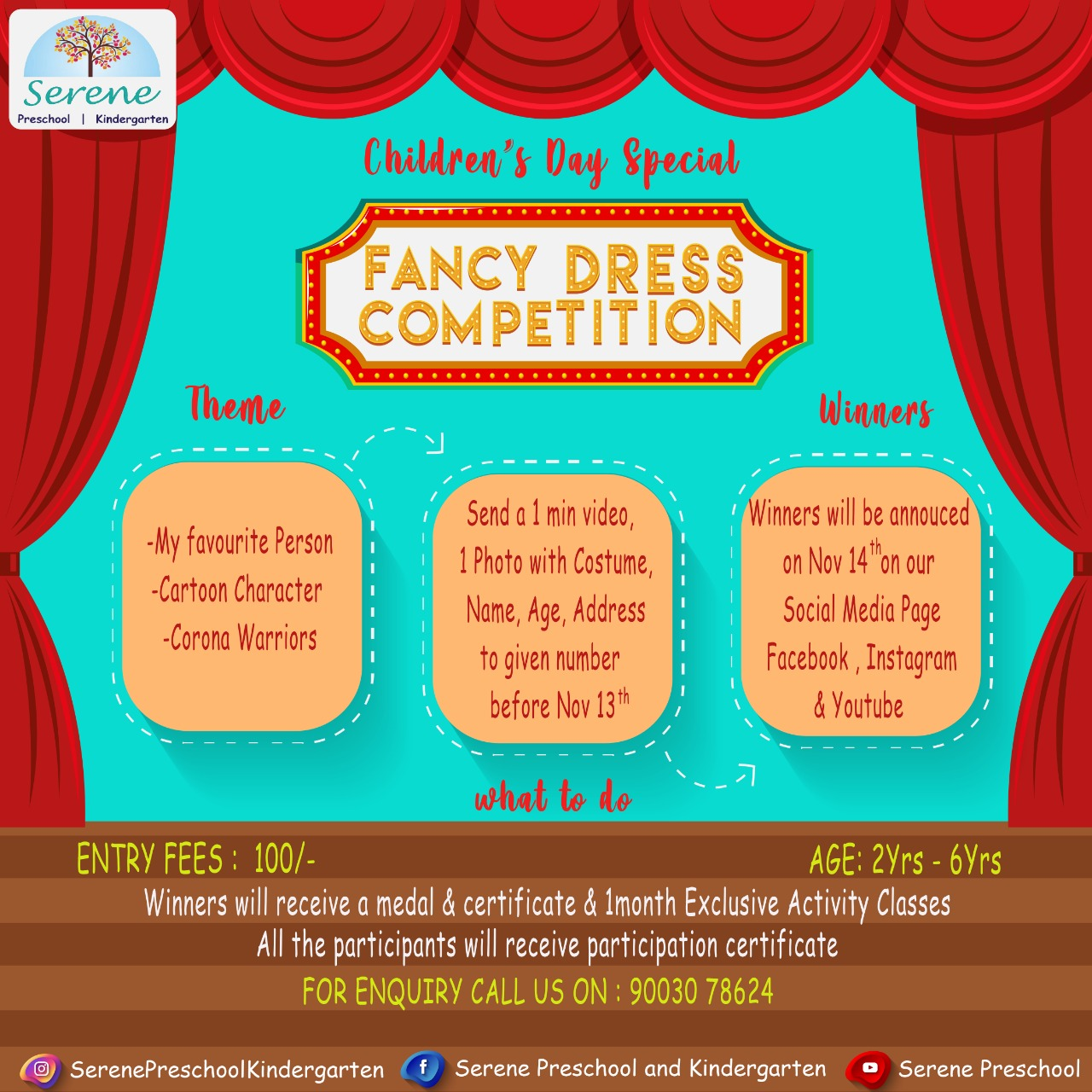 Serene's Fancy Dress Competition