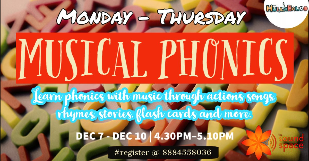 Musical Phonics Bootcamp for Children