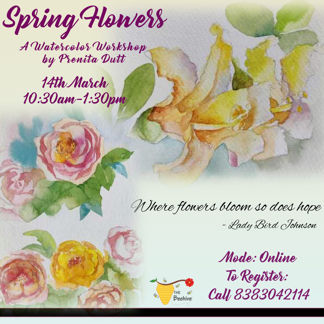 Spring Flowers - A Watercolor Workshop