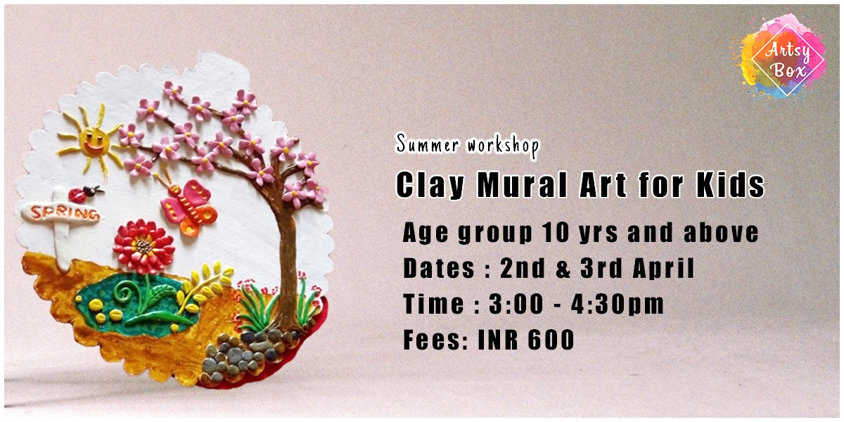Clay Mural Art for Kids