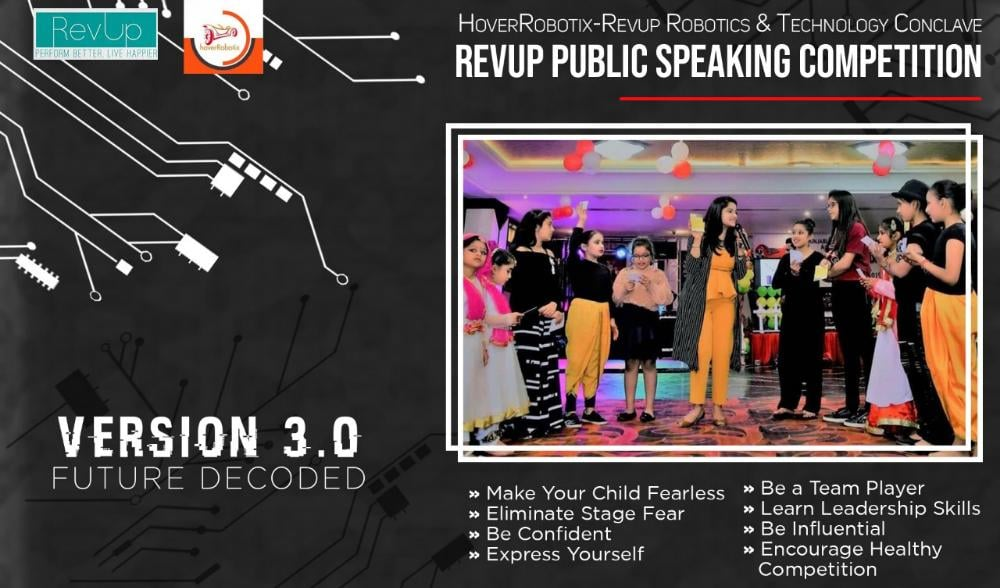 RevUp - Kids Public Speaking & Tech Connect 2019