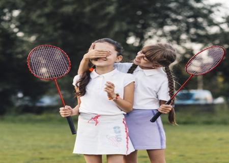 Raise your child to be a badminton champion