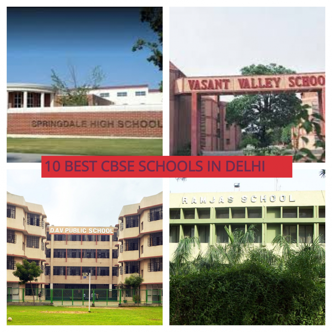 Best CBSE Schools in Delhi