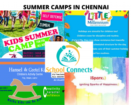Best Summer Camps for kids in Chennai