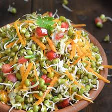 mixed sprout salad
